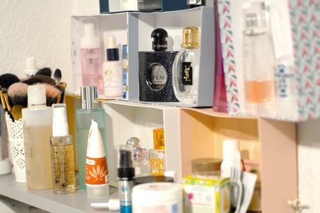 Rangement maquillage - Petits espaces
