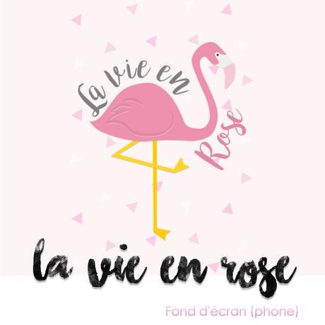 La vie en rose fond d 39 cran pour t l phone for Fond decran telephone