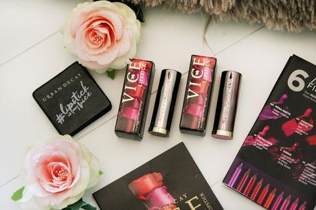 A la découverte des Vice Lipstick de Urban Decay