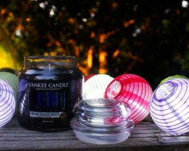 Summer Nights & Lantern Lights 🌌✨💫| Challenge photo Yankee Candle