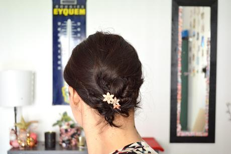 [Tuto] Quatre coiffures de mariage pour cheveux courts