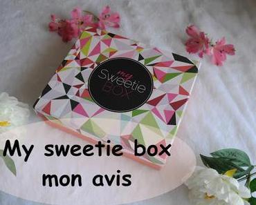 my sweetie box - festivity : mon avis + concours