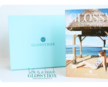 Glossybox Life is a Beach #juillet2016