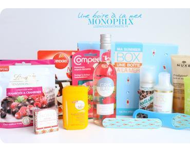 Ma Summer Box de Monoprix : une boite à la mer