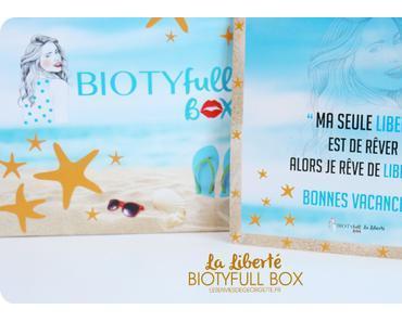 BiotyfullBox La Liberté #juillet2016