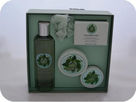 Gamme Fuji Green Tea The Body Shop 2