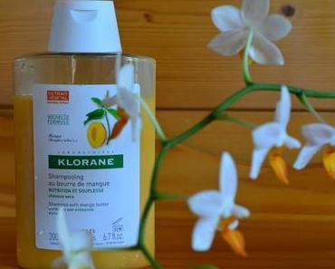 Le Shampoing au Beurre de Mangue de KLORANE pour des Boucles Souples