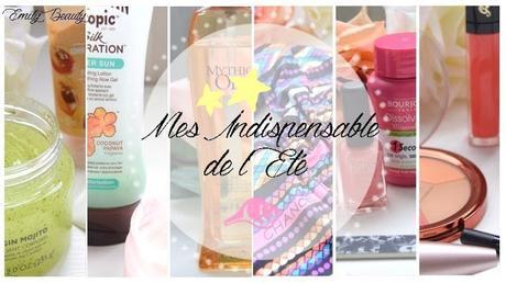 Mes indispensables de l'été : soins, make up, mode & co!