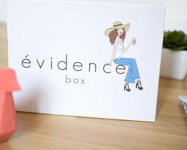 Beauté et bio : la Box Evidence