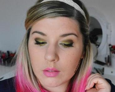 Yellow Summer Makeup
