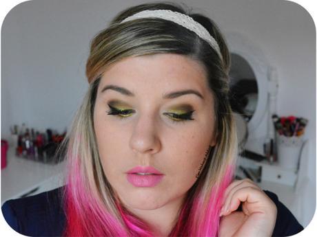 Yellow Summer Makeup 4