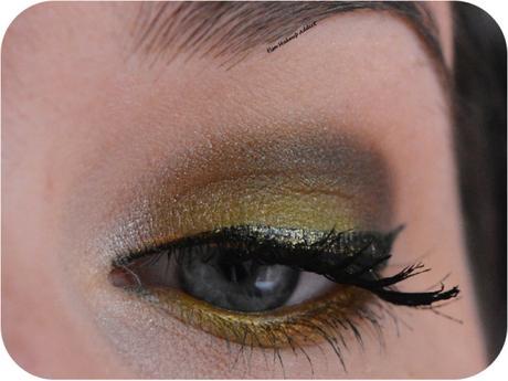 Yellow Summer Makeup 1