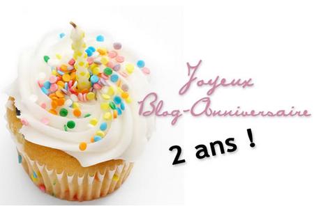 Le blog fête ses 2 ans...!