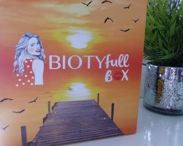 BIOTYfull Box Août 2016 - L'évasion