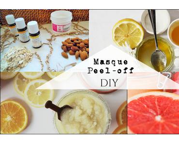 DIY [ Masque Peel-off ] Une peau redynamisée et rééquilibrée
