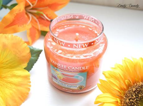 Cocktail de fruit avec Yankee Candle