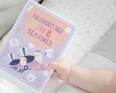 Les Cartes bébé Milestone : la cadeau de naissance qui fait plaisir !