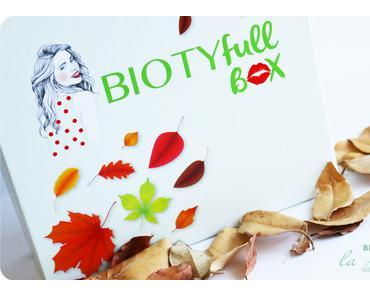 BiotyfullBox La naturelle : au top ! #septembre2016