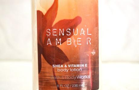 Lait pour le corps Sensual Amber // Bath and Body Works
