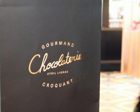 croquant,  gourmand la chocolaterie de Cyril Lignac