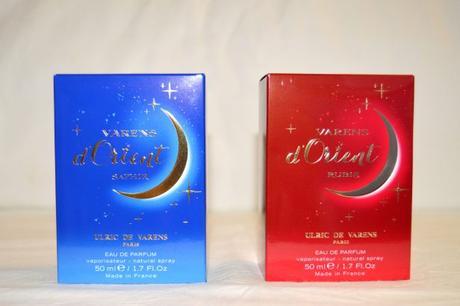 Packagings extérieurs Saphir et Rubis // Ulric de Varens