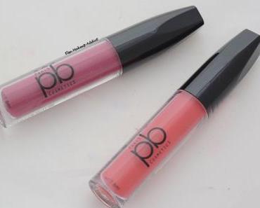 Deux Liquid Lipstick à PETIT PRIX pour l'AUTOMNE : PB Cosmetics