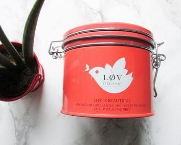 Lov is Beautiful de Lov Organic du soleil dans une tasse de thé