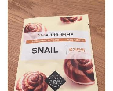 [Revue] J'ai testé le masque Snail de la marque Etude House !
