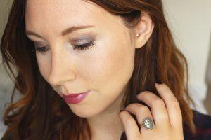 Mon maquillage d'automne – Du prune tout en lumière !