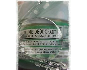 Clémence et Vivien et leur baume déodorant à la menthe…