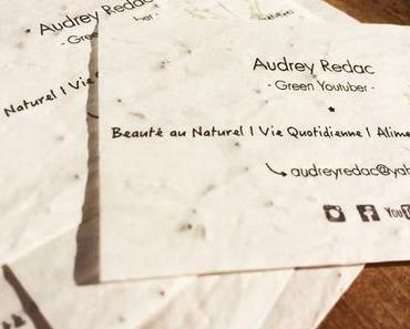 Des cartes de visite compostables ça existe !