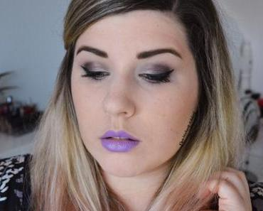Violet MEOW! Makeup {Totally Cute}