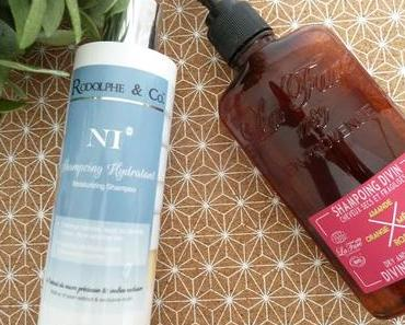 Mes shampooings naturels pour cheveux secs et abîmés
