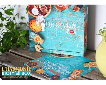 La BiotyfullBox de Novembre toute en harmonie