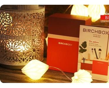 La Birchbox de décembre 2016 au top