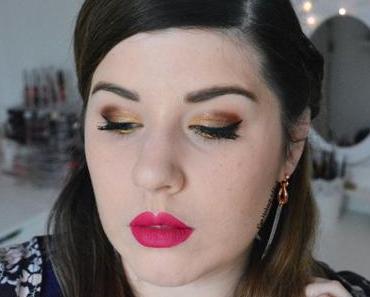 Golden Bronze Makeup pour les Fêtes {Caramel Melange de Zoeva}