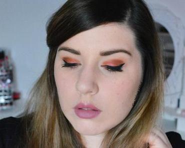 Glitter Red Makeup pour les Fêtes {Zoeva & Urban Decay}
