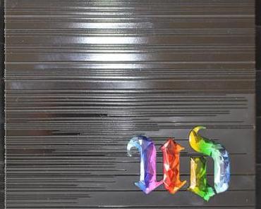 Un arc-en-ciel dans une palette