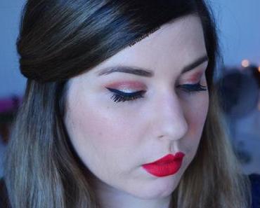 Cranberry & Glitter Makeup pour les Fêtes
