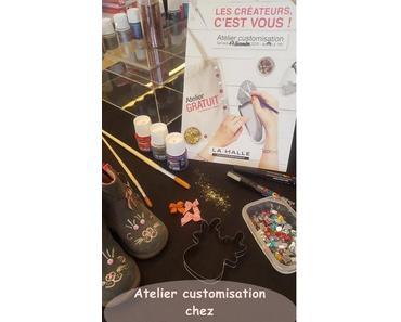 La halle aux chaussures : atelier customisation