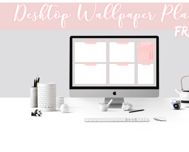 Desktop Wallpaper Planner - Freebie