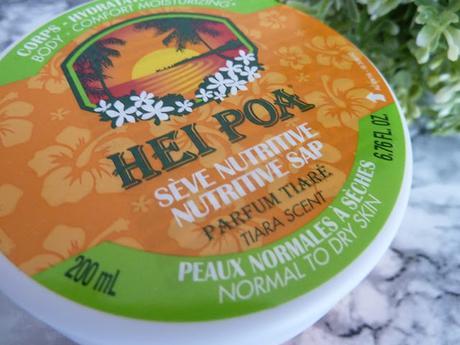 La Sève Nutritive Hei Poa, tellement délicieuse et réconfortante