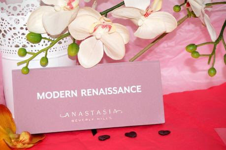 La somptueuse palette Modern Renaissance