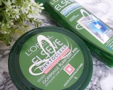 Gamme Phytoclear de l'Oréal pour dire ouste aux cheveux gras, ternes et aux pellicules (+ concours)