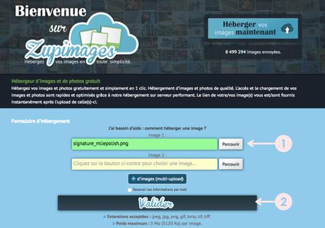 Insérer une signature automatique sur Blogger - Version 2