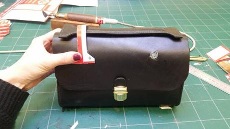 Mon sac cartable en cuir, le projet boulet!