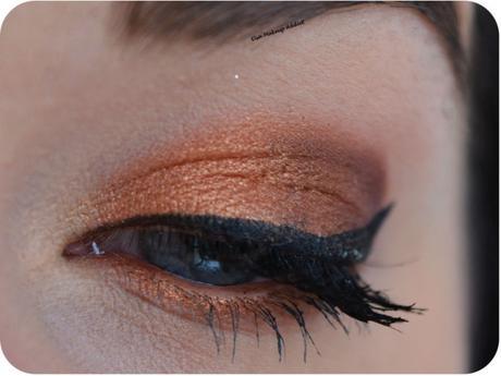 Mon look du moment : Copper Makeup & Dark Lips