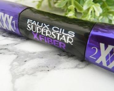 Mascara Faux Cils Superstar XFiber de L'Oréal : revue + concours