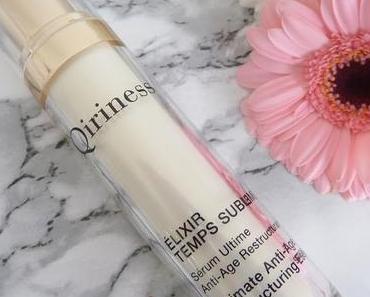 Elixir Temps Sublime Qiriness, le sérum âme-soeur des peaux matures, sèches et dévitalisées