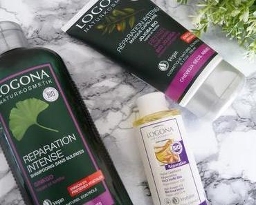 Ma solution pour des cheveux secs et abîmés : la gamme réparation intense Logona